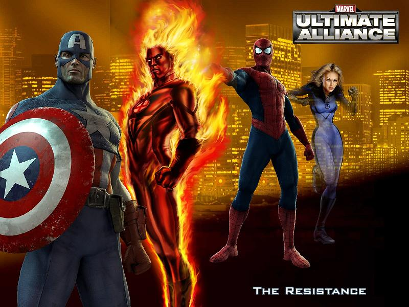 Marvel: Ultimate Alliance The Resistance