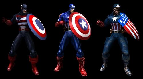 Marvel: Ultimate Alliance Captain America